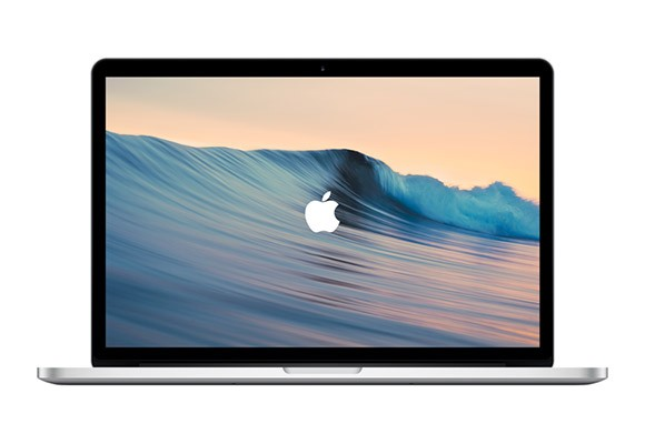 MacBook Pro Vector Mockup
