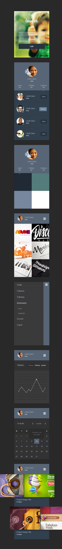 Designer Portfolio App UI Kit