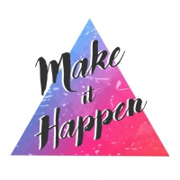 Modern Triangle With Quote