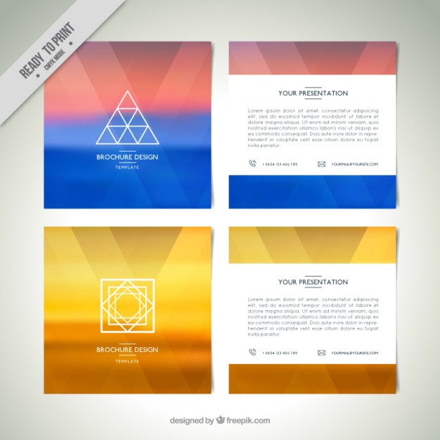 Modern Abstract Flyers