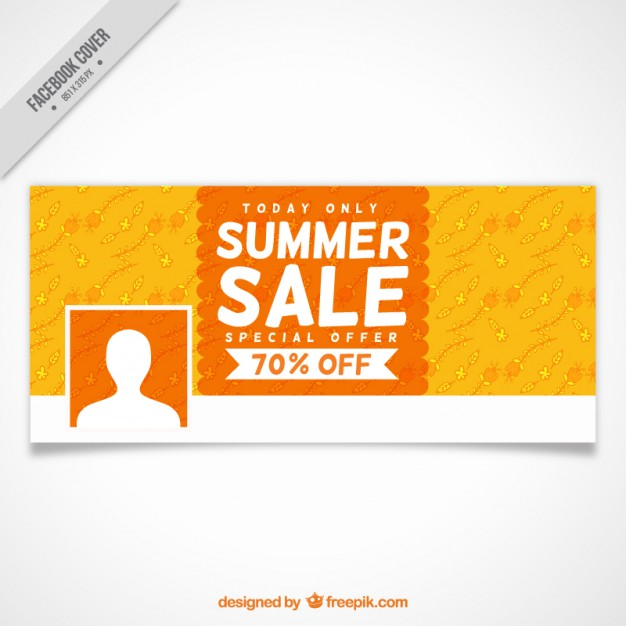 Summer Sale Social Networks Cover