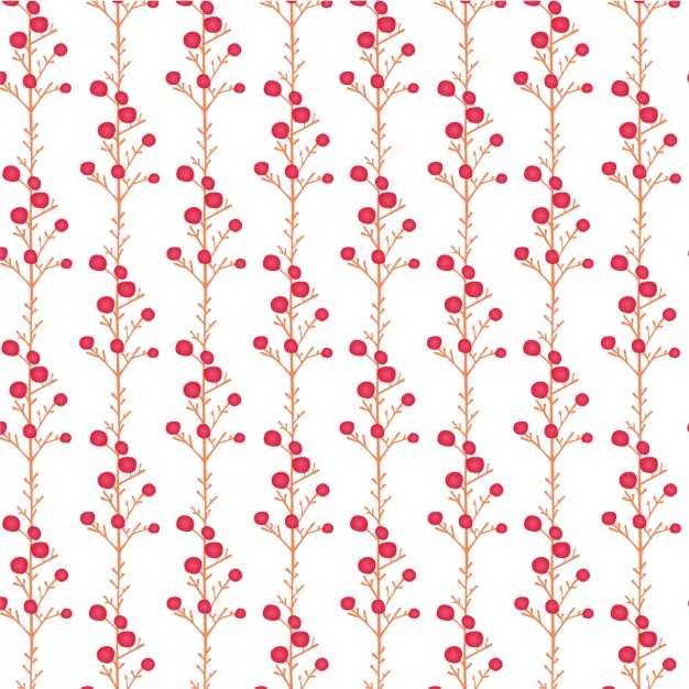 Coloured Branches Pattern Design