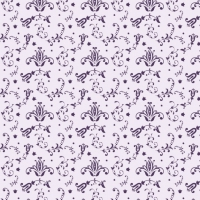 Purple Floral Pattern Design