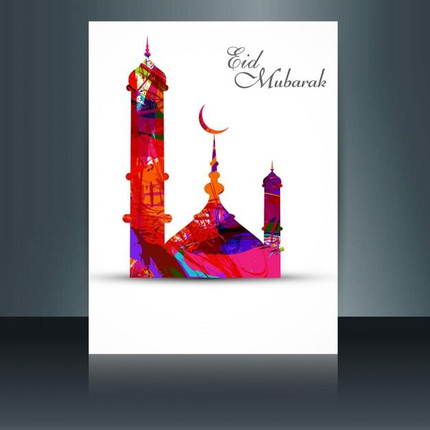 Colorful Eid Mubarak Flyer