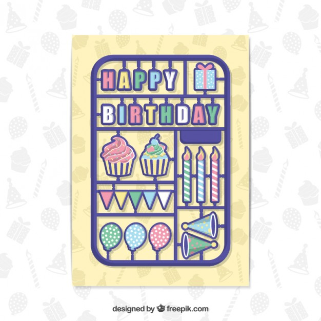 Birthday Elements Card