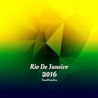 Rio De Janeiro Olympic Games Polygonal Bbackground