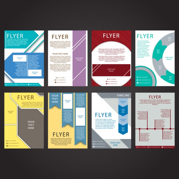 Coloured Flyers Collection