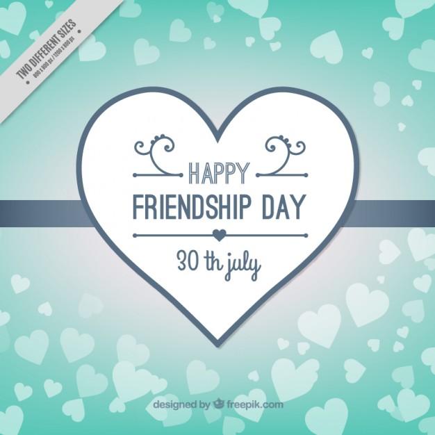 Friendship Day Background Design