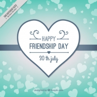 Friendship Day Background Design