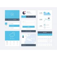 Clear And Minimal UI kit