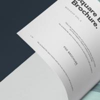 Square Psd Brochure Mockup Vol5