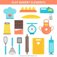 Colourful Bakery Elements
