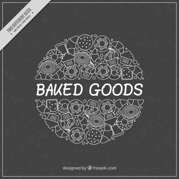 Round Bakery Background