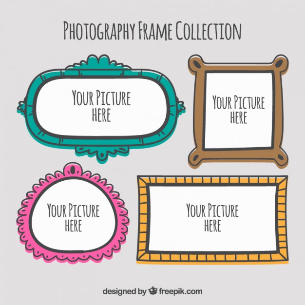 Hand Drawn Photography Frames