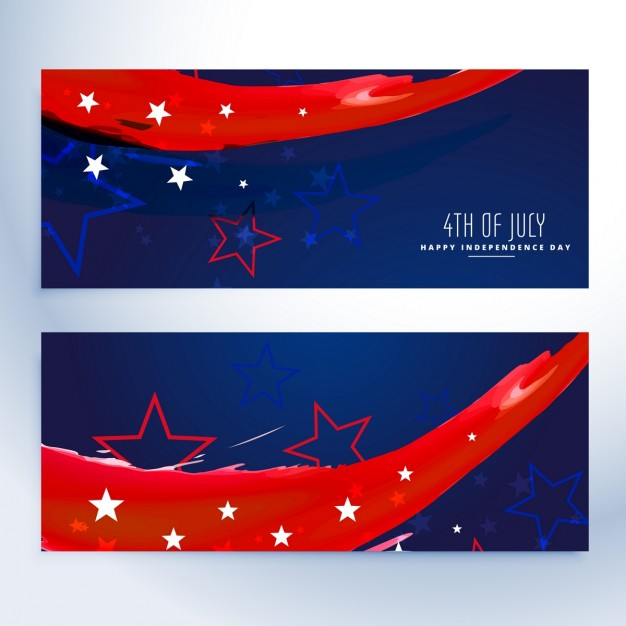 4th Of July Banners Collection