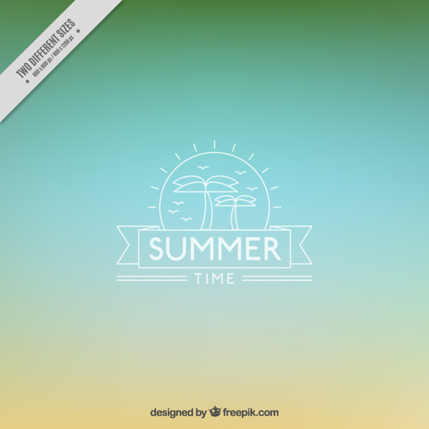 Summer Blurred Abstract Background