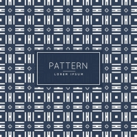 Abstract Pattern With Little Rhombus