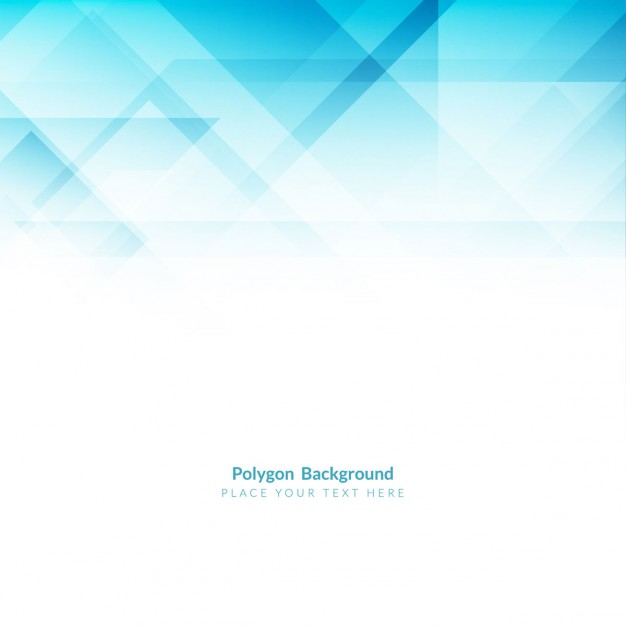 Elegant Blue Polygonal Shape Background