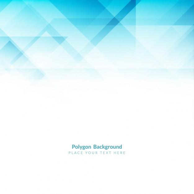 Elegant Blue Polygonal Shape Background
