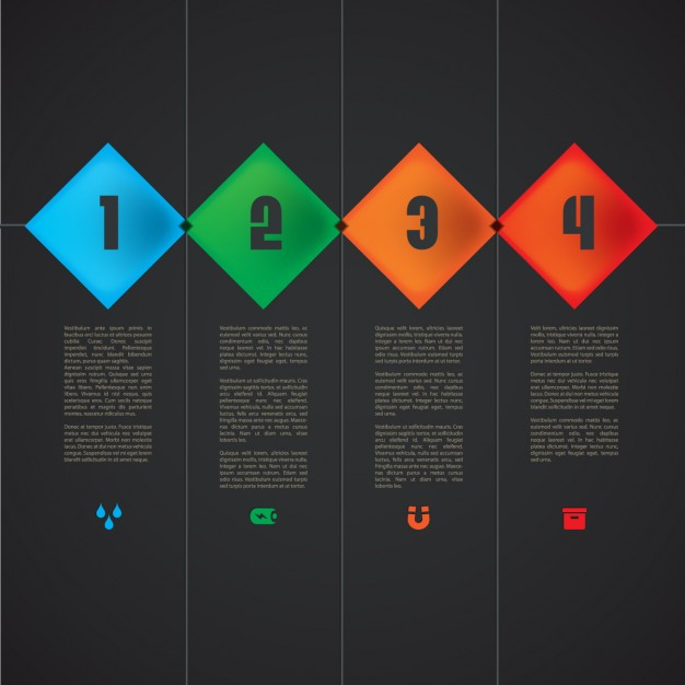 Multicolor Infographic Template