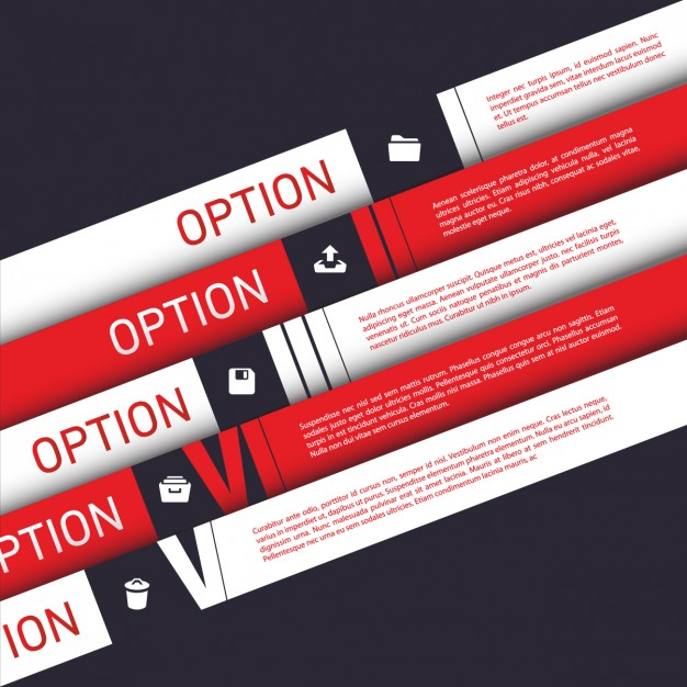 Coloured Infographic Template 2