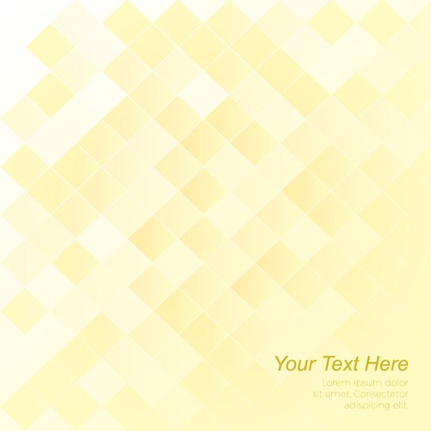Yellow Squares Background