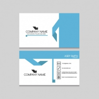 Blue Elements Business Card