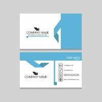 Blue Elements Business Card