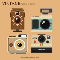 Collection Of Beautiful Retro Camera
