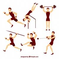Men Doing Sports