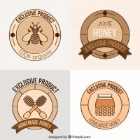 Organic Honey Labels