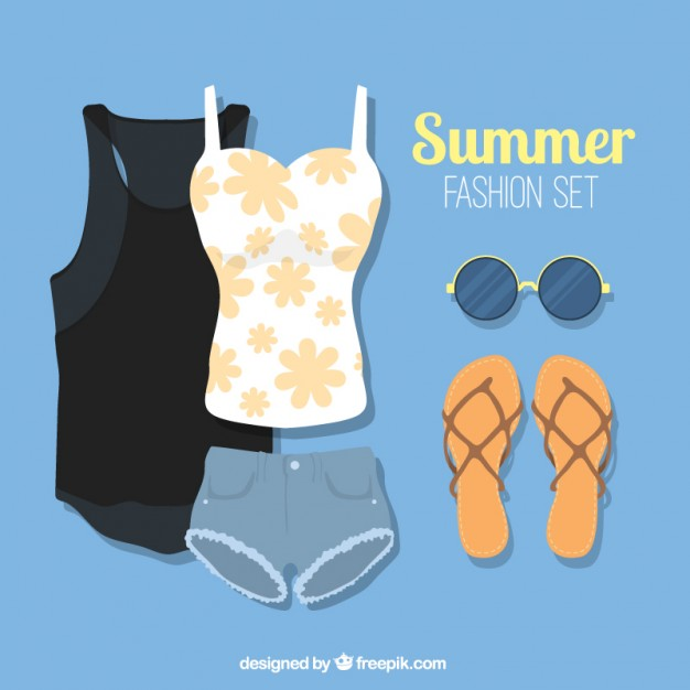 Modern Summer Clothes Pack