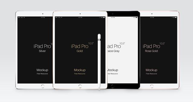 Psd iPad Pro 10-5 Mockup Template