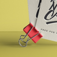 Psd Business Card Mock-Up Vol40