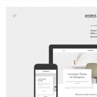 Psd Minimalist Web Showcase