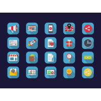 Basic Flat Icons