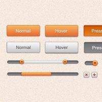 Clean Web GUI Kit