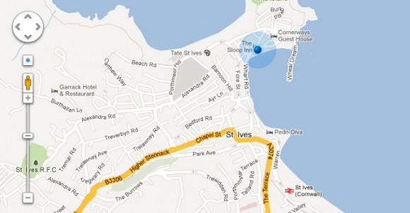 Google Maps UI Controls