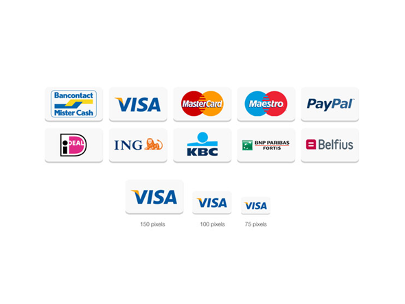 Belgian Payment Icons