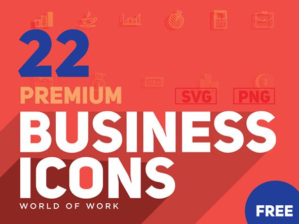 World of Work Icon Set