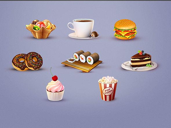 Tasty Bites Icon Set