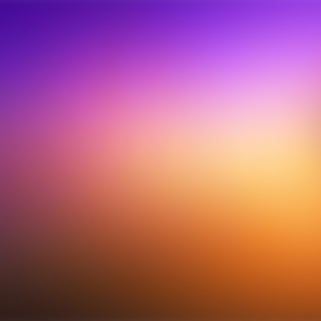 Coloured Blurred Background