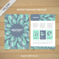 Abstract Forms Brochure