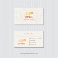 Fun Card For A Music Studio