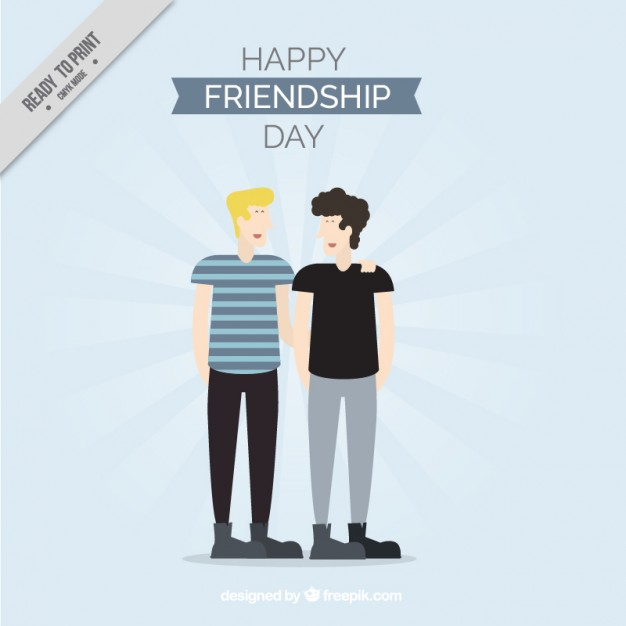 Two Great Friends On Friendship Day
