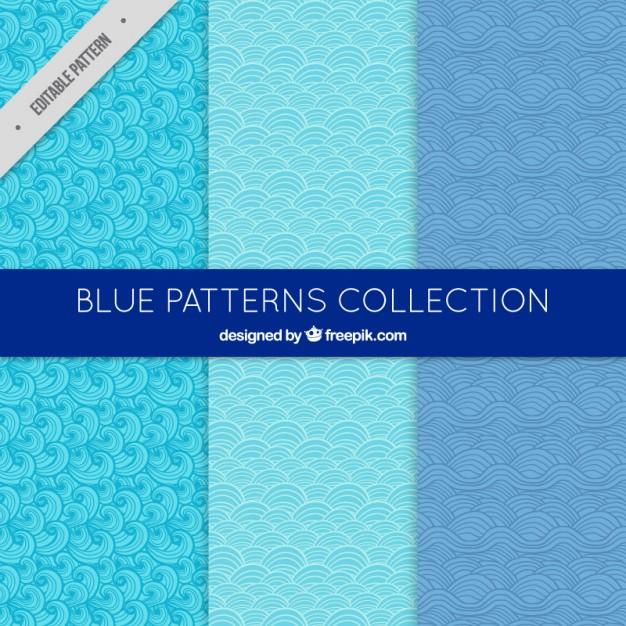 Beautiful Blue Patterns