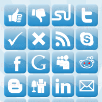 Social Developer Icons