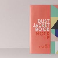 Psd Dust Jacket Book Mockup Vol4