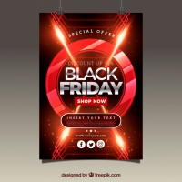 Abstract Black Friday Brochure