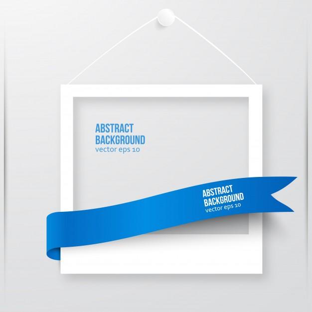 Vector Photo Frame Banner